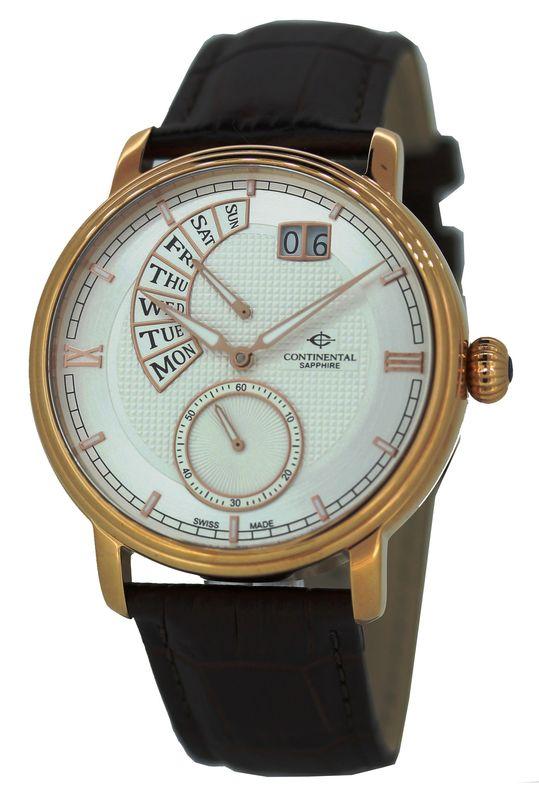 Часы Continental: модельный ряд и отзывы