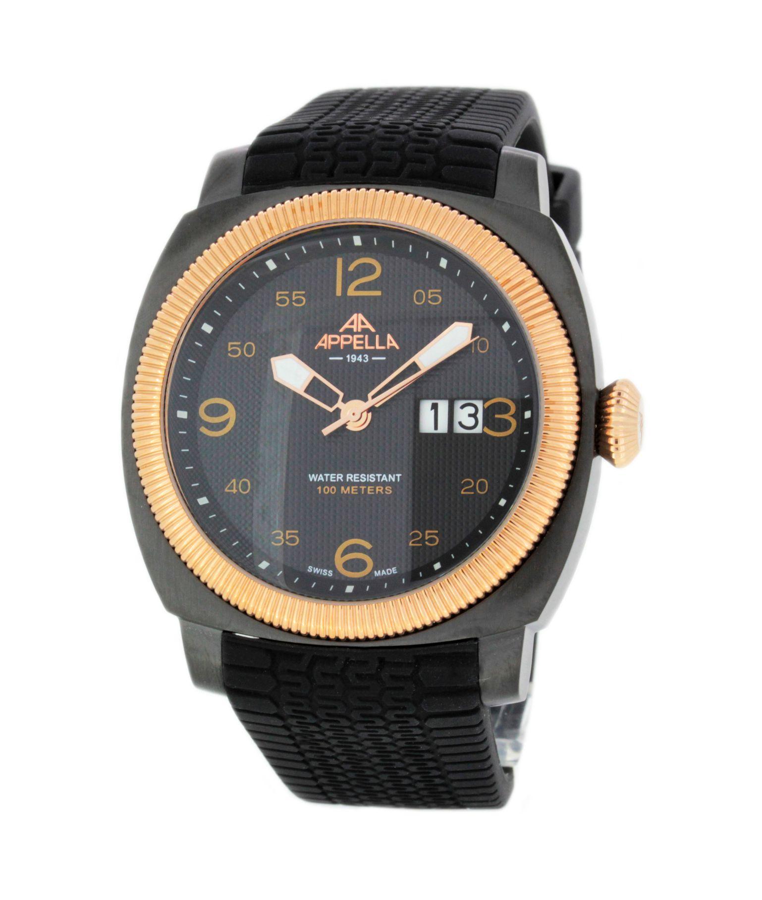 Наручные часы Appella (Аппелла) мужские, AP.4193.08.0.2.04 - Slim ... 1ffde7f0132