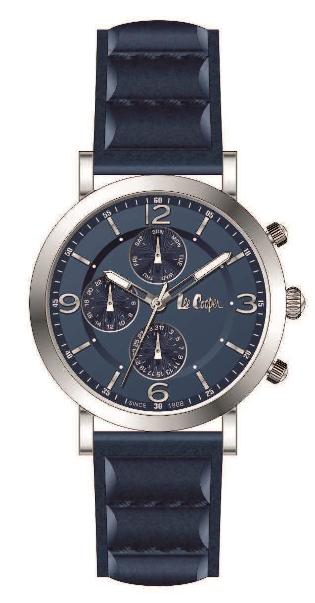 Наручные часы Lee Cooper (Ли Купер) мужские, LC06590.399 - Slim Time ... 5b39995640b